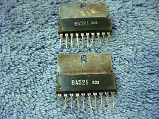 IC Mitsubishi BA521 Pair Amplifier Integrated Chip PC Circuit Board NOS Vintage