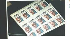 5 USPS Forever Certified Flag Stamps  $2.50