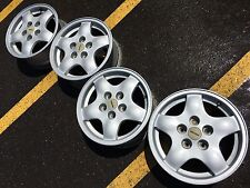 "15"" MAZDA RX7 RX-7 FC 5X114 MAZDASPEED OEM FACTORY STOCK WHEELS RIMS GTU"