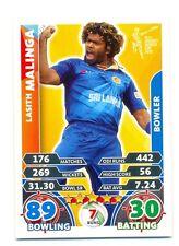 2015 Topps Cricket Attax ICC World Cup #119 Lasith Malinga - Sri Lanka
