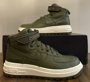 Nike Men's Air Force 1 High GTX Gore-Tex Boot Olive Green CT2815-201 Size 9.5