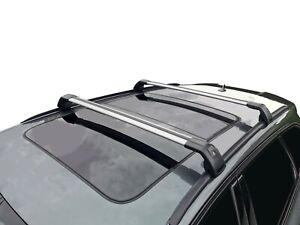 Alloy Roof Rack Cross Bar for Hyundai Santa Fe DM 2013-18 With Flush Rails