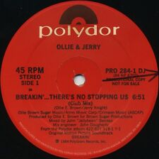 OLLIE & JERRY Breakin'…There's No Stoppin' Us (1984 U.S. 2 Track Promo 12inch)