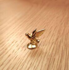 1/12, Gold plated Bird Ornament dolls house miniature fireplace dresser Desk LGW