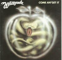 Whitesnake - Come An' Get It 1998 CD issue of their 1981 album
