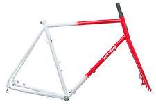 2017 All-City Macho Man Disc Cyclocross Bike Frame Set 58cm Large Steel