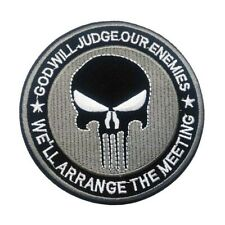 1 Écusson Brodé Thermocollant NEUF ( Patch ) - The Punisher ( Ref 3 )