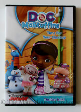Disney Junior Doc McStuffins The Doc Is In! Time For Your Checkup 5 Episode DVD