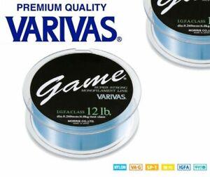 Varivas Premium Quality I.G.F.A. Super Strong Monofilament Line 600M