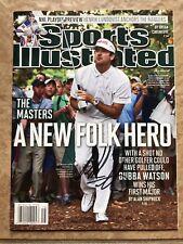 Bubba Watson PGA Golfer Autographed Signed Sports Illustrated