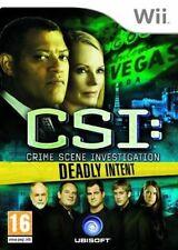 CSI: Crime Scene Investigation: Deadly Intent (Nintendo Wii Game)