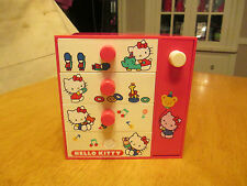 Vintage 1976 Sanrio Hello Kitty 5 drawer box