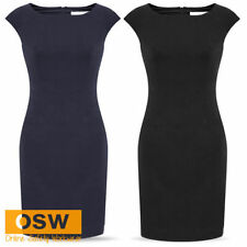 Knee-Length Wear to Work Shift Dresses for Women