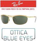 Occhiali da Sole RAYBAN RB3119 OLYMPIAN Ray Ban Sunglasses Sonnenbrillen GOLD