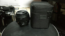Sigma DG 30mm f/1.4 HSM EX DC Lens, Canon; No Reserve, Includes B+W UV Filter!