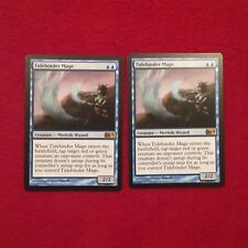 MTG X2 Tidebinder Mage M14 Magic the Gathering Blue Rare Creature Cards
