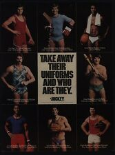 1977 JOCKEY Men's Underwear - PETE ROSE - JIM PALMER - Shirtless Men VINTAGE AD