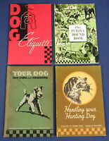 Your Dog Care + Training Etiquette Handling Hunting Dog Hound Book Purina Mills