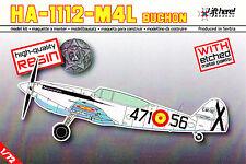 "Lhm007/Lift here Models-hispano aviacion ha-1112-m4l ""Buchon"" - resin - 1/72"