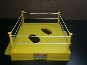 RockEm SockEm Robots Replacement Ring, Posts and Ropes, stands Mattel parts only