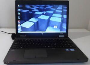 """HP ProBook 6560b 15.6"""" Core i5 2.5Ghz 4GB 320GB WINDOWS 7 PRO 64 Bit WI-FI  DVD"""
