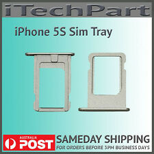 Silver Nano SIM Card Tray Replacement For iPhone 5S