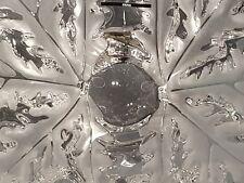 Lalique piccolo centro in cristallo, champs elysees crystal bow. Lunghezza cm 24