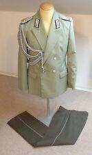 #e2124 rda gala uniforme Lieutenant-colonel bascule en arrière services avec aisselle ficelle