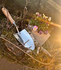 Garten Schaufel Schuppe Kelle Blumen Pflanzen Edelstahl Stabil Rostfrei Trowel