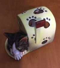 Lang Candles Cat In A Mailbox Tealight Holder 4 1/2""