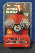Star Wars Topps Galactic Connexions Discs Series 1 unopened  BLISTER Pack