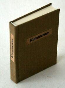 """Minibuch DDR """"Hansheinrich Kummerow"""" Leinen"""