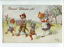 3035341 Musical Dressed CATS. By THIELE #1829 Vintage