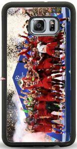 Liverpool FC Champions League Samsung Galaxy Phone Case S6/S7/S7E/S8/S9/S10/S20