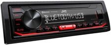 JVC KD-X260BT Single DIN In-Dash AM/FM/Digital Media Car Stereo Receiver w/ LCD