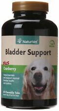 NaturVet Bladder Support plus Carmberry Time Release Chew Tablets for Dogs 60ct