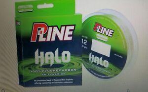 P-Line Halo Fluorocarbon 200yd Mist Green