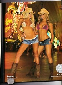 """2007 HOOTERS 161 Page Hooters Girls MAGAZINE. """"VEGAS SWIMSUIT ISSUE"""", MINT Cond."""