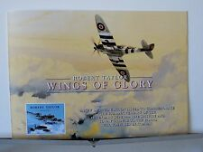 Wings of Glory Robert Taylor  Multi-Page Advertising Brochure
