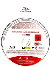 Warhammer 40.000 Space Marine Promo PAL/EUR PS3 Playstation Videojuego Retro