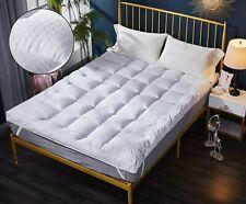 HIGH LIVING ® Microfibre Mattress Topper  3D Massage Bubbles Fabric 4 inch /10cm