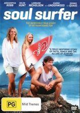 Soul Surfer DVD INSPIRING TRUE STORY SURFING BRAND NEW R4