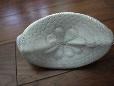 embroidered muslim prayer hat white