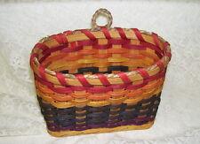 Handmade Multi-Color Tabletop Or Wall Basket