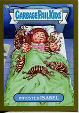 Garbage Pail Kids Mini Cards 2013 Gold Parallel Base Card 154b Infested ISABEL