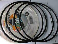 Felgenschutzring aus ABS Kunststoff in Schwarz for 15 Zoll Alufelgen