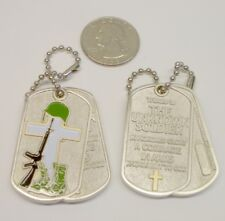 ☆ Unknown Soldier Geocoin KIA Army Unactivated Dog Tag
