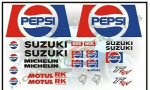 Suzuki PEPSI decal set