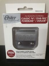Oster Professional Classic 76 Clipper Detachable Replacement Blades  Size 0000
