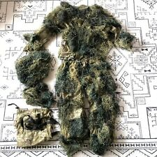 Red Rock Ghillie Suit Pants Shirt Headgear Bag Youth L 14-16 Camouflage Hunting